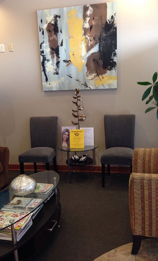 Waiting room of Advanced Dental Care