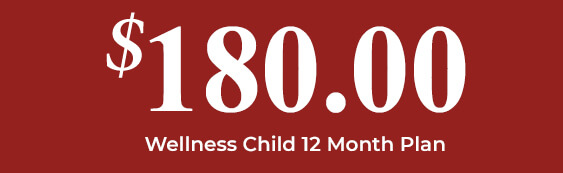 $180 Wellness Child 12 Month Plan